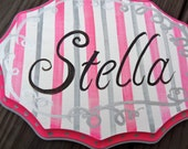 Personalized Elegant Boutique Wall Hanging
