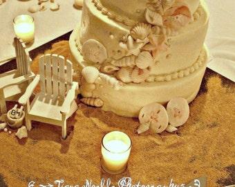 The Original Set Of 2 Cake Topper Wedding Decor Mini