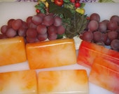 Dreamcicle oranges and cream scented soap