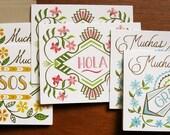 6 Spanish Cards Box Set