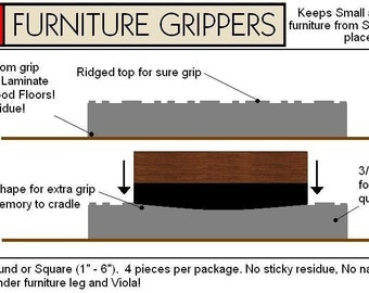 Stay furniture grippers keep furniture by stayfurnituregripper for Furniture grippers
