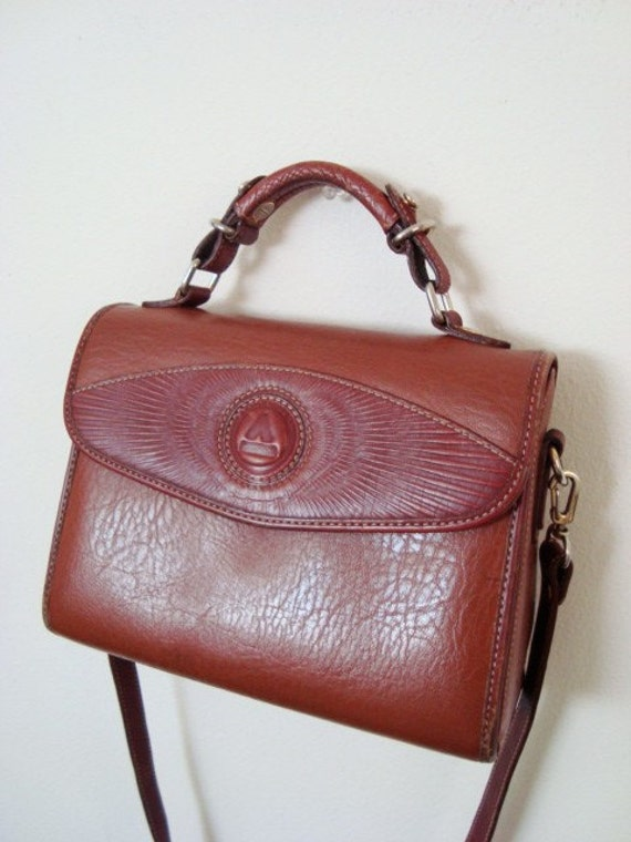 SALE - Ramona - Vintage Satchel Purse.
