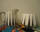 Art Deco Sugar bowl and creamer set