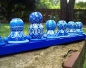 Blue Menorah