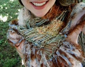Desert Song - Handknit Scarf in Peach, Rust, Copper, Dusty Blue, Sage Green, Mesquite Brown, Sandstone Tan n More