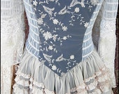 Reserved for Lei-iissa - Haunted Romance - Savannah Ghost Gown by Kambriel - One of a Kind Vintage Opulence