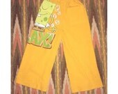 MEDITATING IN BUBBLES SPONGE BOB RELAX Upcycled T Shirt Pants 3T - 4T