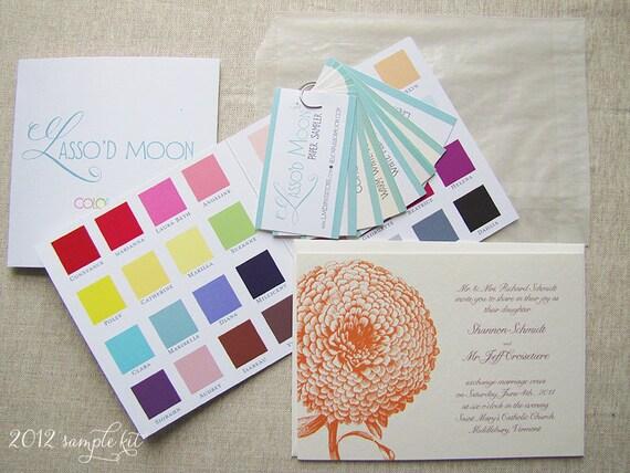Wedding Invitations Kit: Wedding Invitation Sample Kit