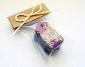 25 Mini Washi Scalloped Tags