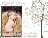 Baby Photo Birth Announcment  - 5x7 or Costo Sized 6x7.5 - You Print