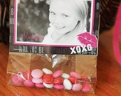Valentine's Day Photo Treat Bag Toppers Card - You Print