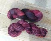 Superwash Merino\/Nylon Sock Yarn - Ivy - Free Shipping