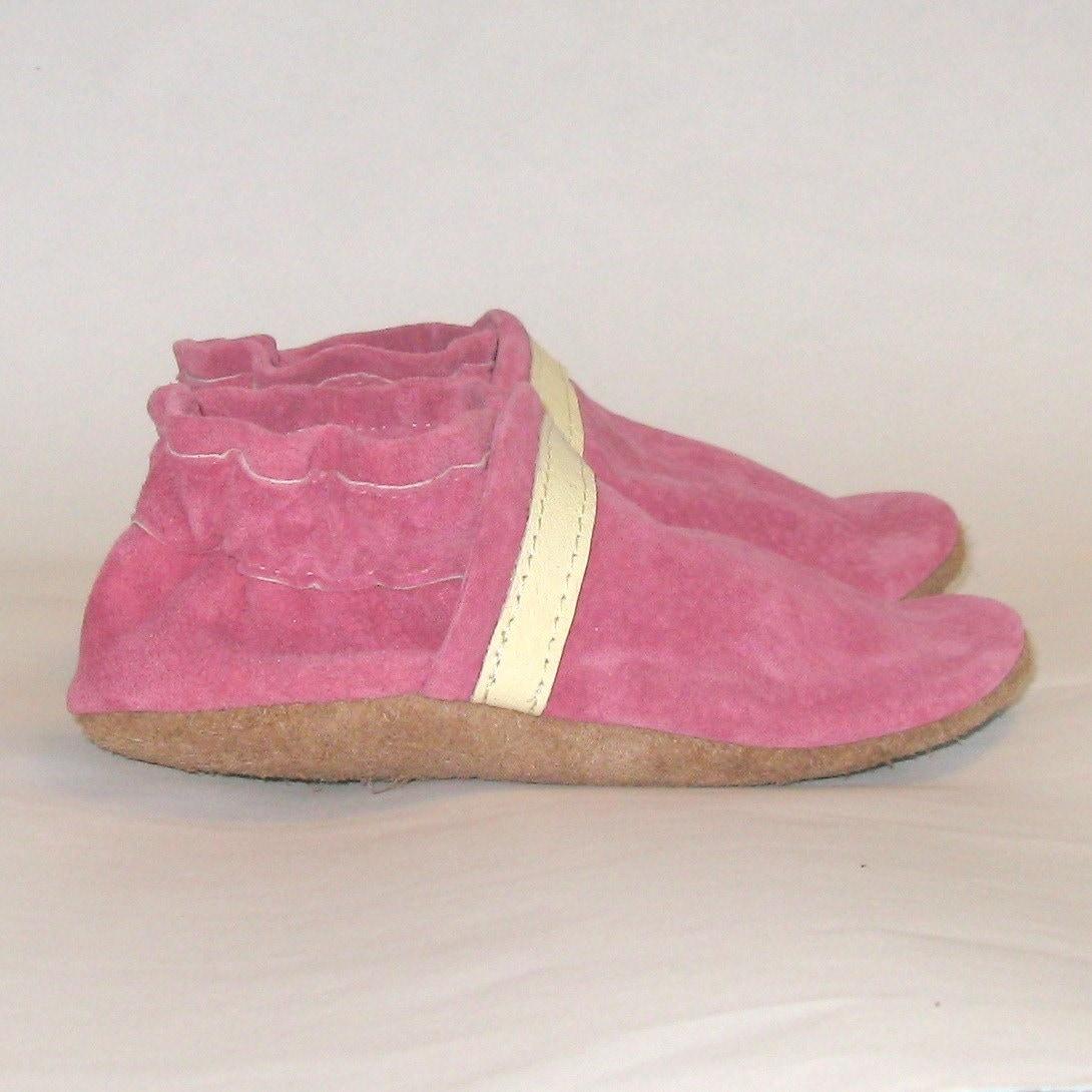 Raspberry Sherbert 12 18 Month Baby Shoes