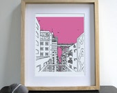 Hotel City - Print / Wall Art / Illustration