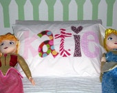 Original Personalized Pillowcase...Custom Made To Match...Boys and Girls....Name School Spirit...Birthday Gifts and Sleepovers