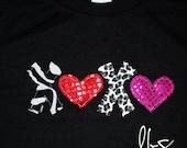 Valentines Day shirt.....X O X O