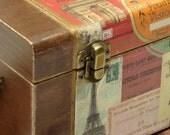 Paris...Magical City...jewelery...treasures...wooden box...
