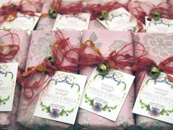 Rosary Rose Organic Soap
