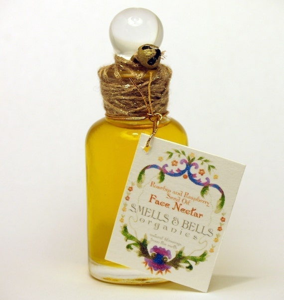 Rosehip and Raspberry Face Nectar - made with organic ingredients