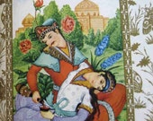gift it Iranian, Rubaiyat of Omar Khayyam, Persian, 1940s