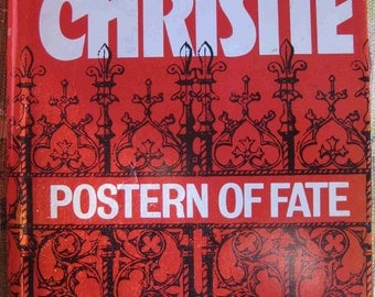 gift it AGATHA CHRISTIE CRIME published during her life, vintage Postern of Fate
