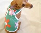 Size XS Summer Garden Dog Tank