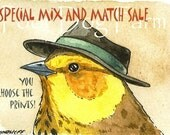 Special MIX and MATCH ACEO signed Prints   - Set of 5 Sale