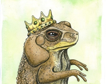Royal Toads (SPECIAL set of 2 prints)