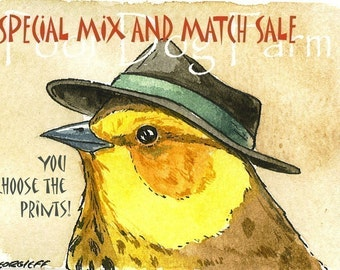 Special MIX and MATCH  5 x 7  signed Prints   - Set of 5 Sale