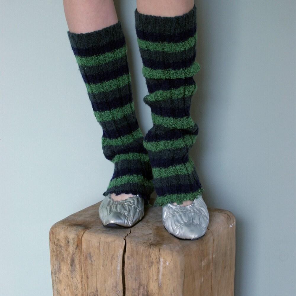 Green Leg Warmers