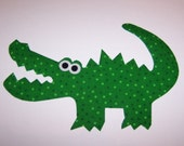 Fabric Applique TEMPLATE ONLY CHOMP The Alligator