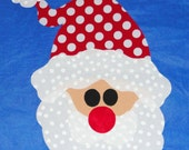 Fabric Applique TEMPLATE Pattern Only SANTA CLAUS....New