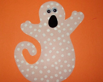 Fabric Applique TEMPLATE ONLY Ghost