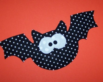 Fabric Applique TEMPLATE ONLY Flying Bat