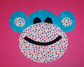 Fabric Applique TEMPLATE Pattern ONLY FuNKy MonKeY....NEW