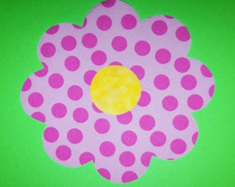 Fabric Applique TEMPLATE ONLY Big Bloom Flower....New