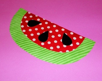 Applique TEMPLATE Pattern Only CHUNKY WATERMELON...New