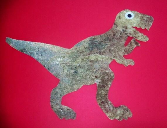 Fabric Applique TEMPLATE ONLY           T Rex Dinosaur