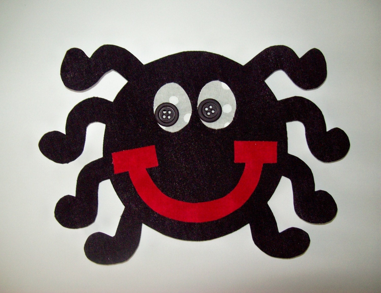 Fabric Applique Template Only Spider