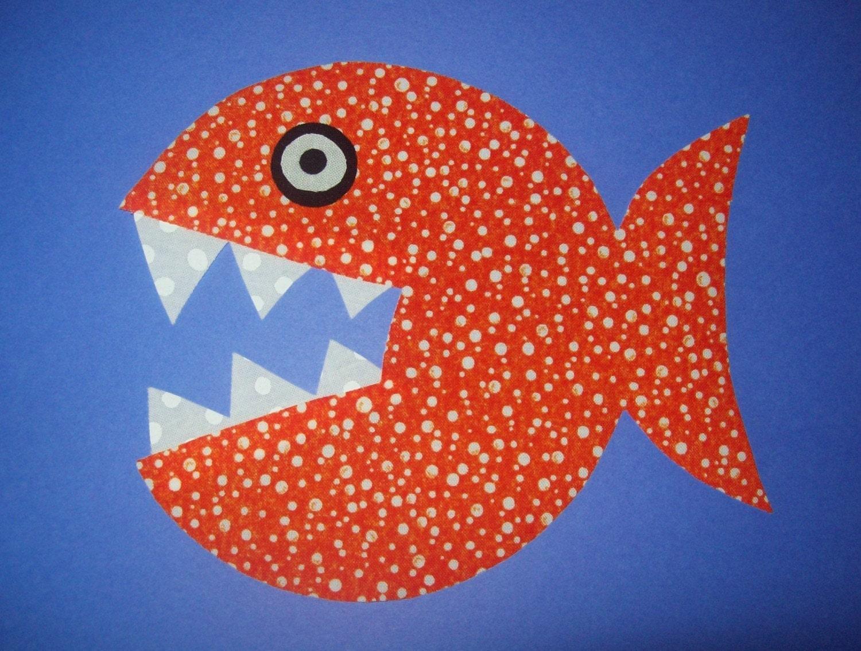Рыбка своими руками для детей 3-4 лет 68