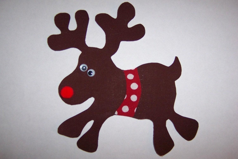 Christmas Reindeer Template | New Calendar Template Site