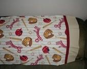 Personalized Baseball Pillowcase