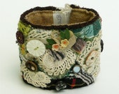 Textile Wrist Cuff\/Autumn