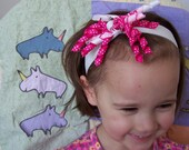 SALE strawberry sprinkles headband