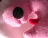 Catnip Fetus Toy in Pink