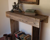 Reclaimed Wood Console Table. 30x13x30 Entry Table. Country Western. Farm House Table. Countryside Table. Country Living Table. Country Life