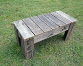 Wood Coffee Table. Living Room Table. Rustic Table. Country Farm House Table. Reclaimed Wood Furniture. Rustic Furniture. Wooden Table