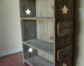 Rustic Bookcase Handcrafted from Old Cedar Wood. Historical and Charming :) Eco Furniture, Wood Bookcase, Wood Shelf