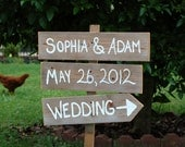 Name Date Wedding Sign Outdoor Weddings Hand Painted Wedding Signs Your Words Rustic Wooden Sign. Wedding Ceremony Sign Entrance
