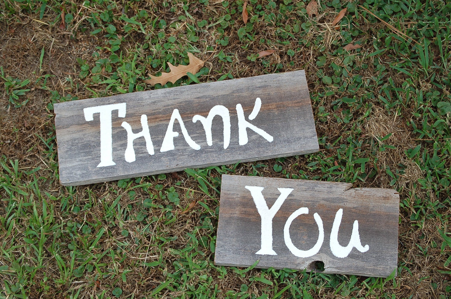 Thank you Sign for Wedding Photos and Thank You by ...